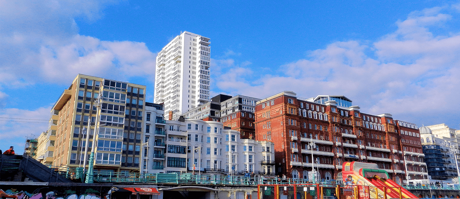 Brighton Seafront buildings